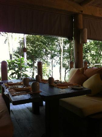 Soneva Kiri Thailand: restaurant for buffet breakfast