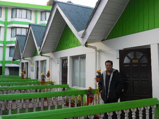 Darjeeling - Khush Alaya, A Sterling Holidays Resort: In front of our apartment