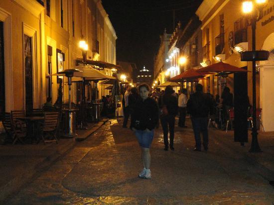 Hotel Casavieja: en mayo y hacia frio