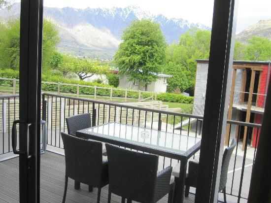 Mantra Marina : Apartment's Balcony with view of Mountain but no Lake