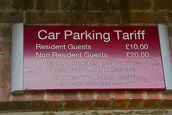 Mercure Stratford-Upon-Avon Shakespeare Hotel: Be warned
