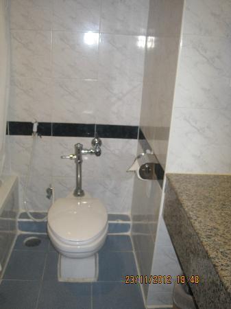 โรงแรมแกรนด์ ทาวเวอร์ อินน์ พระรามหก: bathroom