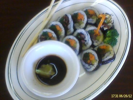 Joy Garden: Kim Bap - Korean sushi