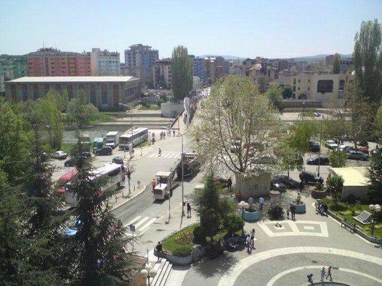Mitrovica, Kosovo: Near the main bridge
