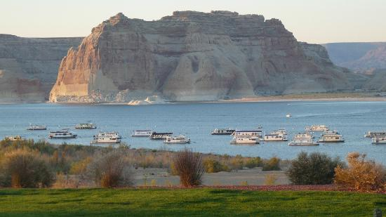 Lake Powell Resort: Vue de la chambre