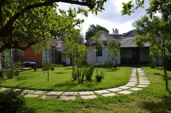 Satyagraha House: jardin