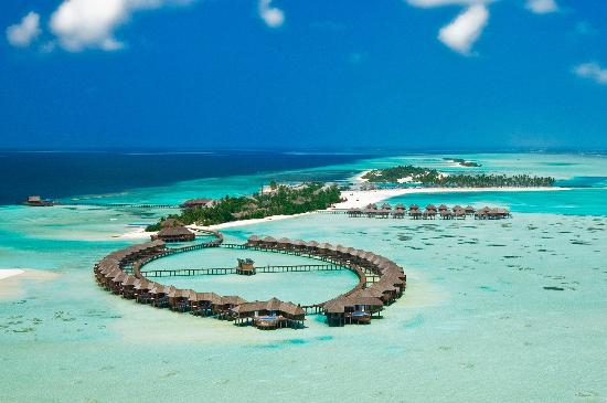 Olhuveli Beach & Spa Resort: Aerial Shot of Olhuveli Maldives