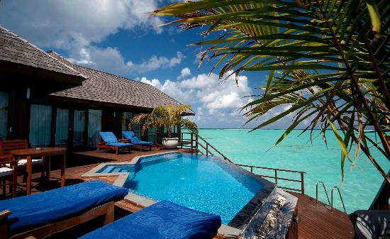 Olhuveli Beach & Spa Resort: Presidential Water Suite at Olhuveli Maldives