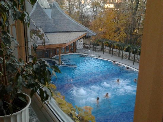 Danubius Health Spa Resort Heviz: Outdoor Pool
