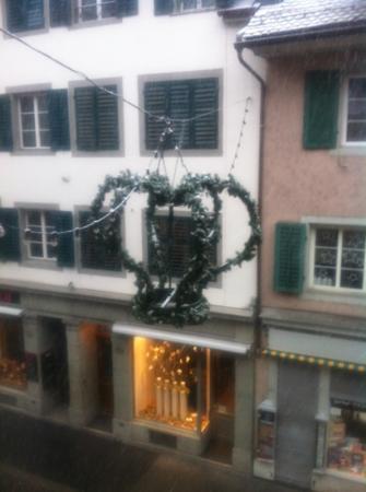 Hotel Pension Rosli: ausblick vom Zimmer 711