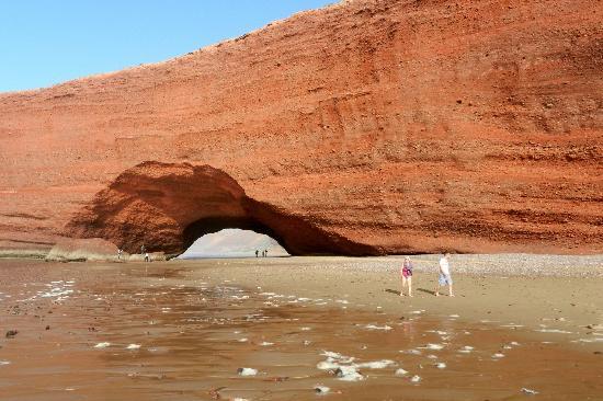 Пляж Легзира: la première arche