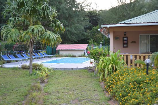 Villa Gaiarda: la piscina
