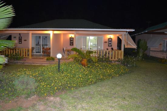 Villa Gaiarda: le villette di sera