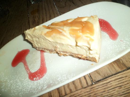 Irish cream & caramel cheesecake - Picture of Ropewalk, Nottingham ...
