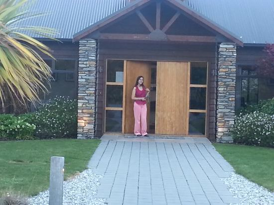 Mountain Range Boutique Lodge: Entrance of the Lodge