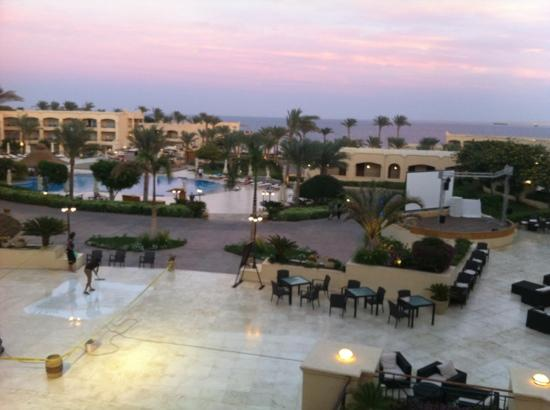 Cleopatra Luxury Resort Sharm El Sheikh: view from our room