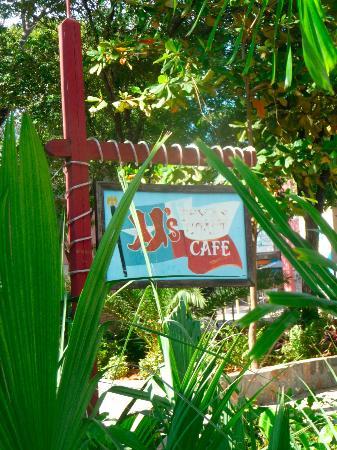 JJ's Texas Coast Cafe : JJ's sign