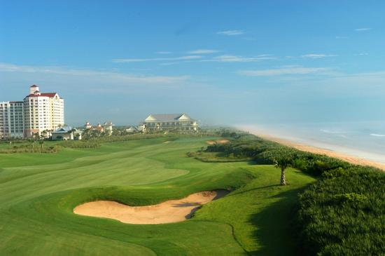 Cinnamon Beach at Ocean Hammock Beach Resort: Resort and it's golf course