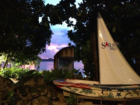Sails BBQ: 入口