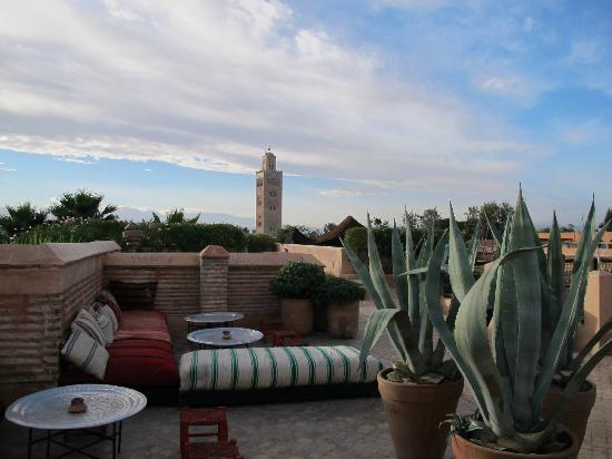 El Fenn: Amazing views from the roof area