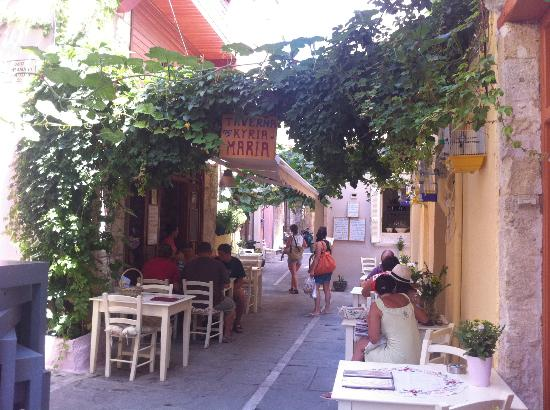 Youth Hostel Rethymno: kyria maria restaurant