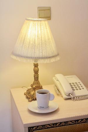 Historia Hotel: lamp shade