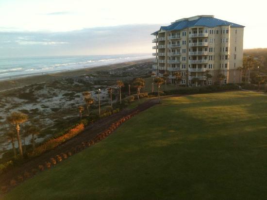 The Ritz-Carlton, Amelia Island: View from balcony