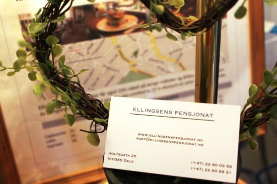 Ellingsens Pensjonat: Contact us!