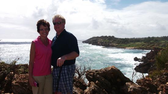 Poipu Bay Resort Golf Course: Kodak moment!