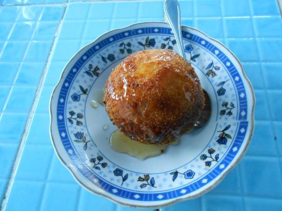 El Primo Hotel Dahab: Unbedingt probieren: Frittierte Eiscreme