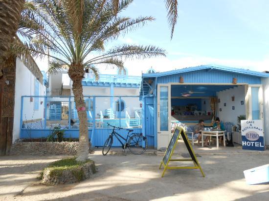 El Primo Hotel Dahab: Zwischen Lounge und Restaurant
