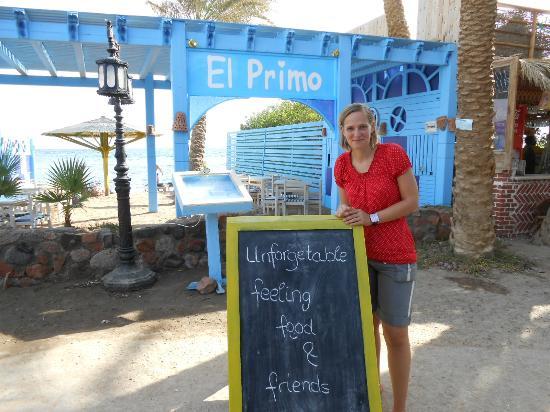 El Primo Hotel Dahab: Emily, die Managerin