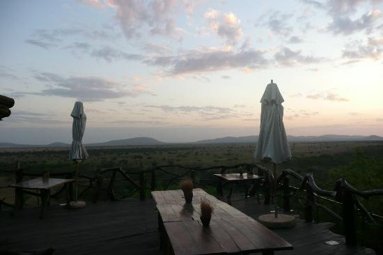 Mbalageti Safari Camp Ltd: View from dining area