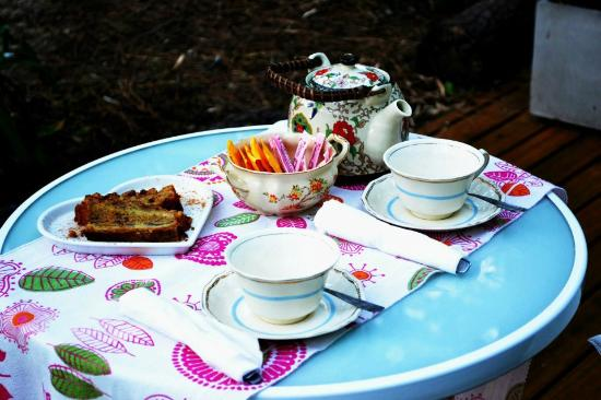 Terral Suites: Degustación de té