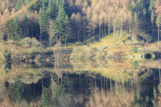 Pitcairn House: An almost pefect reflection on Thirlmere