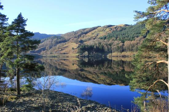 Pitcairn House: Thirlmere completely calm