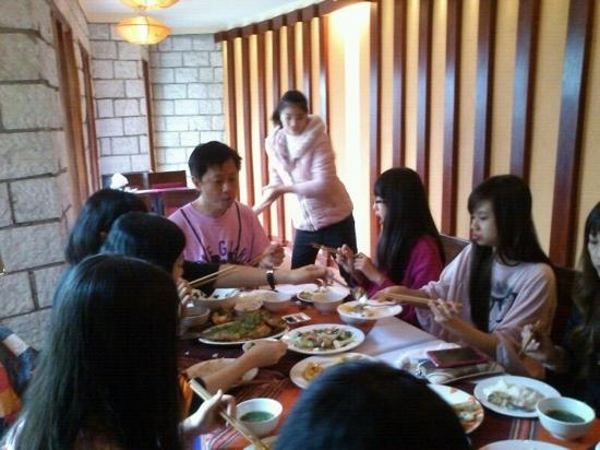 Sean's group and Zung the hotel staff - Picture of Sapa ...