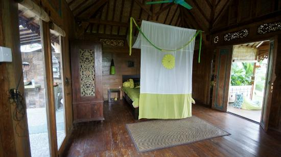 Hati Padi Cottages: Chambre