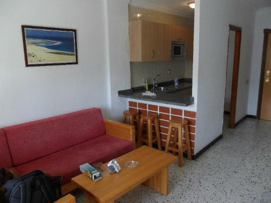 Living Room Kitchen Picture Of Los Ficus Playa Del