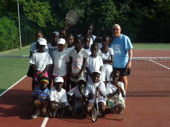 Club Med Cap Skirring : Avec la Fondation Tennis et Louise