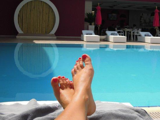 Golden Tulip Nicosia Hotel and Casino : Swimming pool