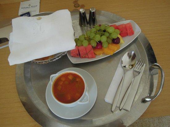 Golden Tulip Nicosia Hotel and Casino : lunch