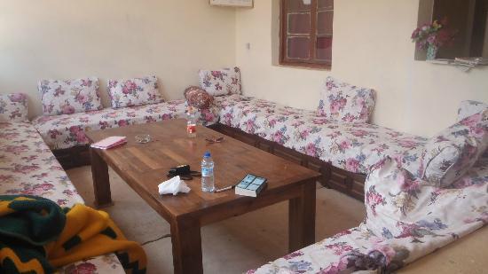 Dar Achain Guesthouse: Livingroom