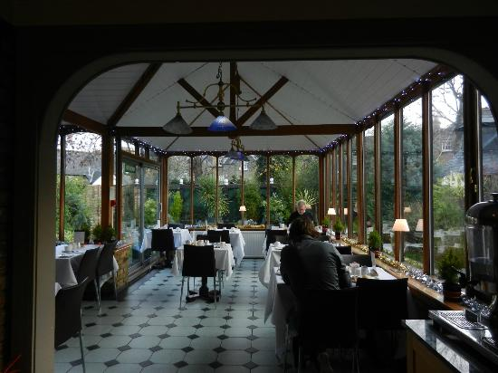 The Lodge Hotel, Putney : sala colazione