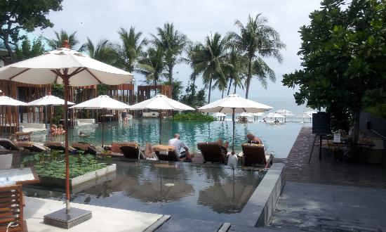 Cape Nidhra Hotel: Erholung am Pool, Cape Nidhra