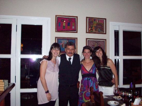 Altos de Balcarce Hotel: Con Jorge, un genio!
