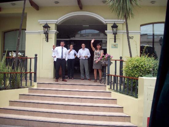 Altos de Balcarce Hotel: La despedida!