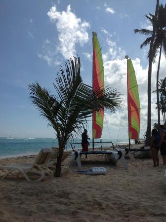 Majestic Elegance Punta Cana: Hobie cat sailboats