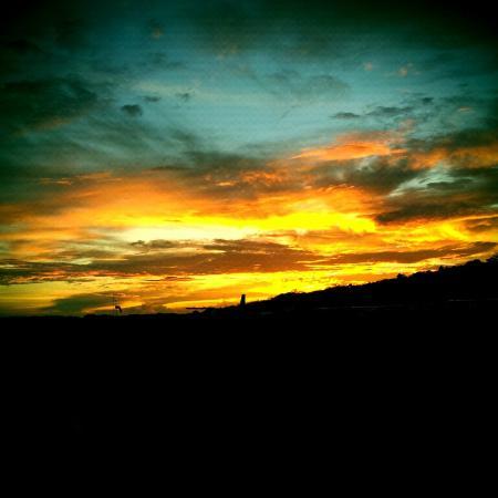 Radisson Grenada Beach Resort: sun set