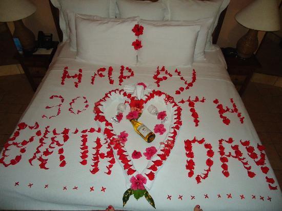 Coco Beach Resort: Amazing birthday surprise! Zobey made sure my birthday was extra special, much love!